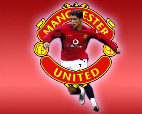 """Ronaldo- Logo MU"""