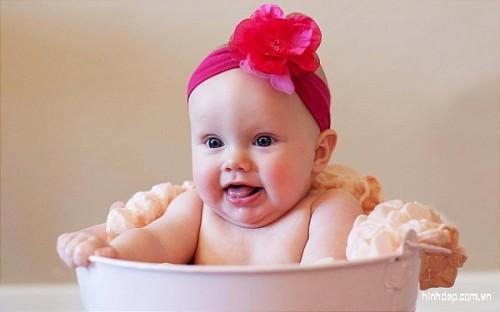 Hình ảnh đẹp về em bé