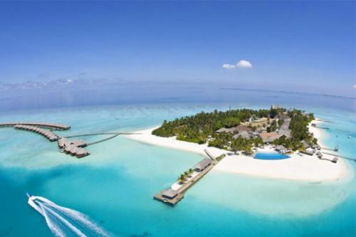 Hòn đảo này có tên Maldives.