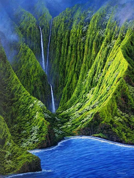 Thác nước Molokai, Hawaii