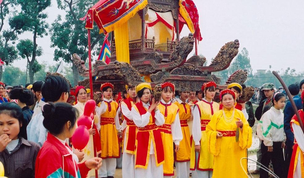 Hình ảnh đẹp ở Hội Lim