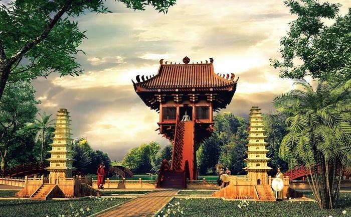 Hình ảnh đẹp về Chùa Một Cột biểu tượng của thủ đô Hà Nội