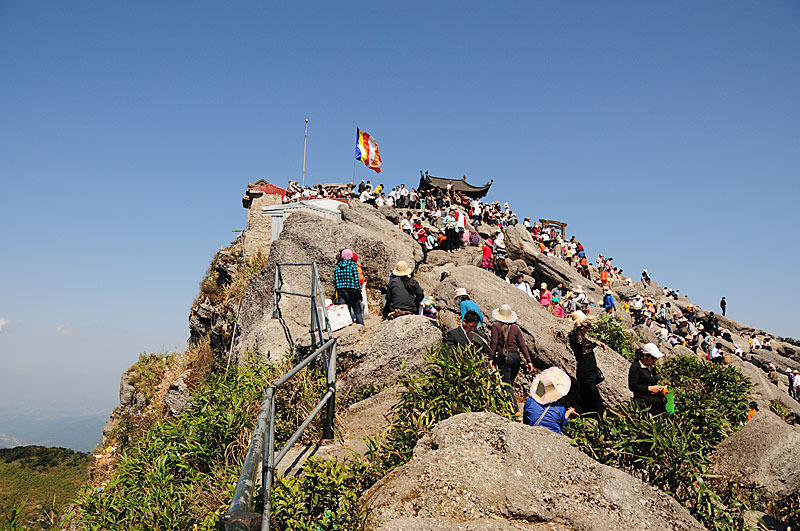 Hình ảnh đẹp về chùa Đồng trên đỉnh Yên Tử