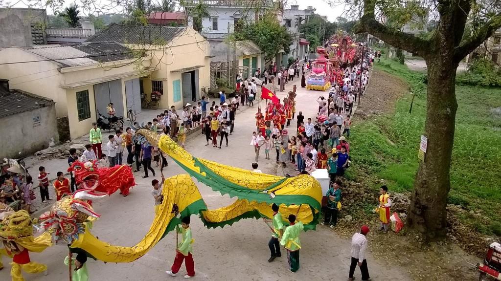 Hình ảnh lễ hội chùa Tây Phương
