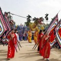 Hình ảnh đẹp về đền Hai Bà Trưng Hát Môn Hà Nội