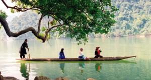 Hồ Ba Bể Bắc Kạn đẹp xanh mát đầy sức sống