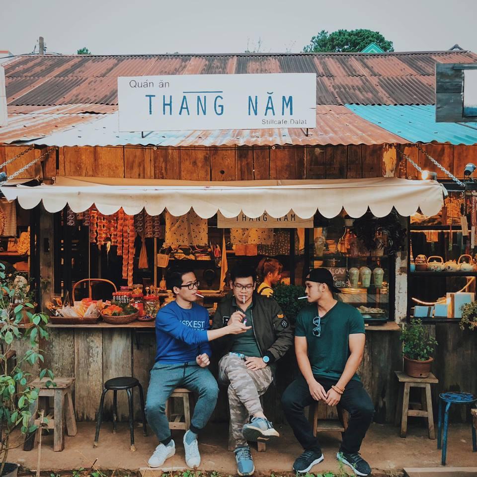 Góc phố nhỏ tại Đà Lạt, nơi các bạn trẻ rất thích thú check in