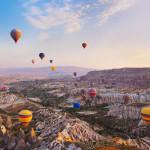 Du ngoạn Cappadocia trên khinh khí cầu