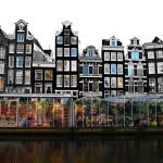 Hút hồn với chợ hoa nổi duy nhất thế giới tại Amsterdam
