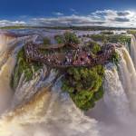 Khám phá những địa điểm đẹp nhất thế giới từ không trung