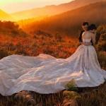 Mê mẩn với những tấm ảnh cưới có khung cảnh đẹp tuyệt trần