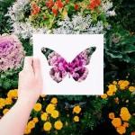 Mãn nhãn với bộ tranh cắt giấy nghệ thuật cùng thiên nhiên thơ mộng