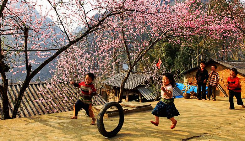 Hình ảnh đẹp về mùa xuân trên đất Hà Giang