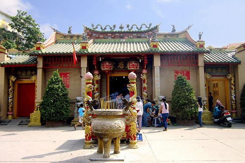 Hình ảnh đẹp về chùa Thiên Hậu Tp HCM