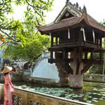 Hình ảnh đẹp về Chùa Một Cột biểu tượng của Hà Nội
