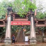 Hình ảnh đẹp về chùa Tây Phương Hà Nội