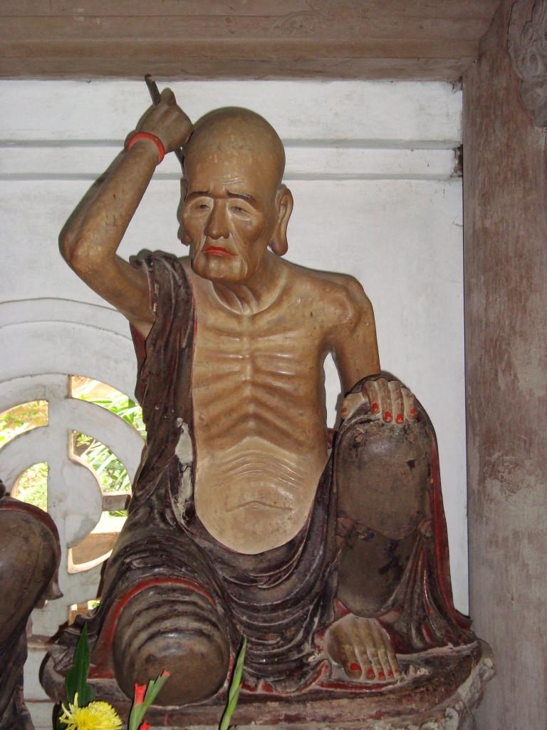 Hình ảnh các vị La hán trong Chùa Tây Phương