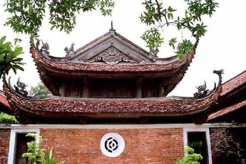 Hình ảnh đẹp về chùa Tây Phương xao động lòng người