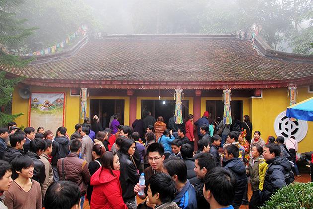 Hình ảnh đẹp về chùa tây thiên Vĩnh Phúc