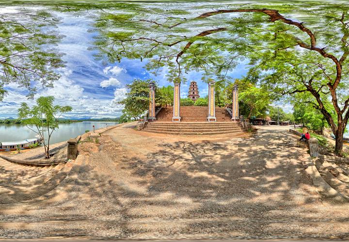 Hình ảnh đẹp về chùa Thiên Mụ ở Huế
