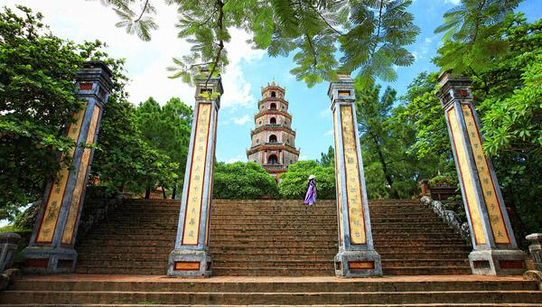 Hình ảnh đẹp về chùa Thiên Mụ ở Huế | HÌNH ẢNH ĐẸP