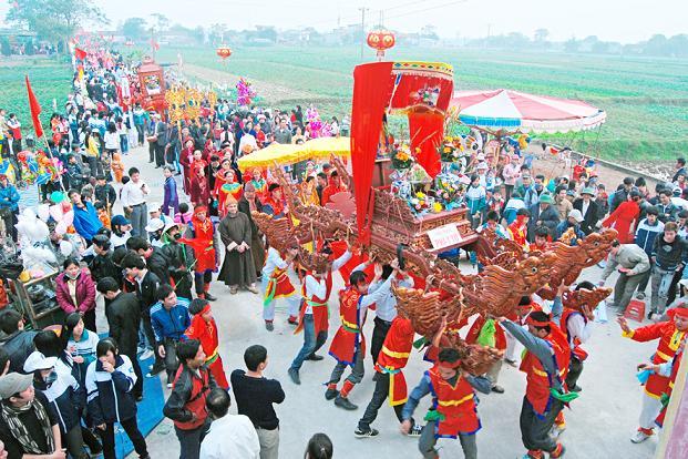Lễ hội chùa Bái Đính ngày xuân