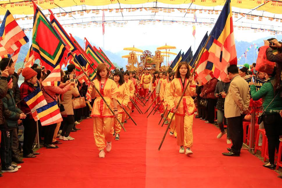 ngày hội, lễ hội, nghi thức, chùa Yên Tử