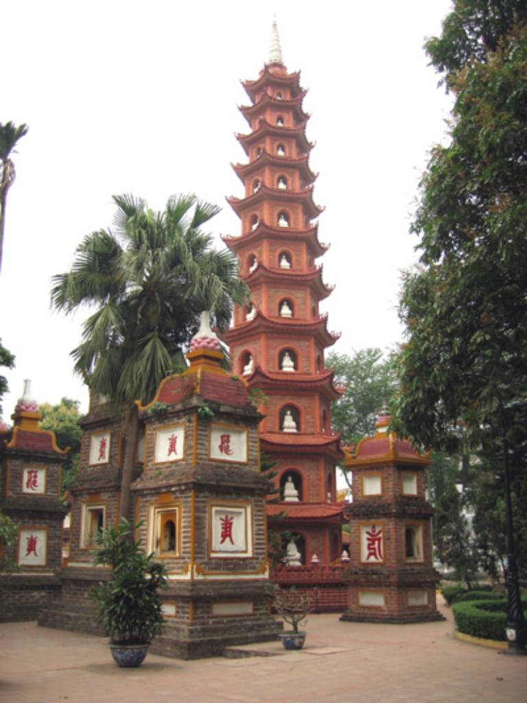 Ảnh chùa Trấn Quốc ngôi chùa cổ nhất Hà Nội