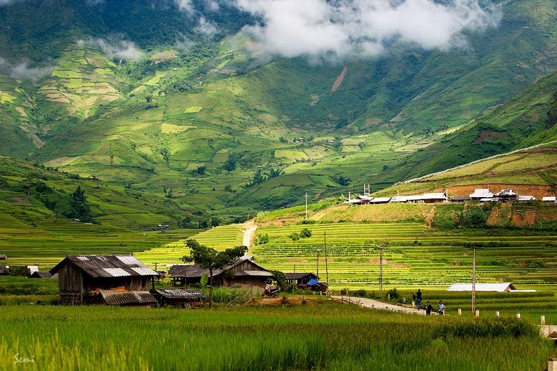Cảnh đẹp như chốn bồng lai ở Bát Xát Lào Cai