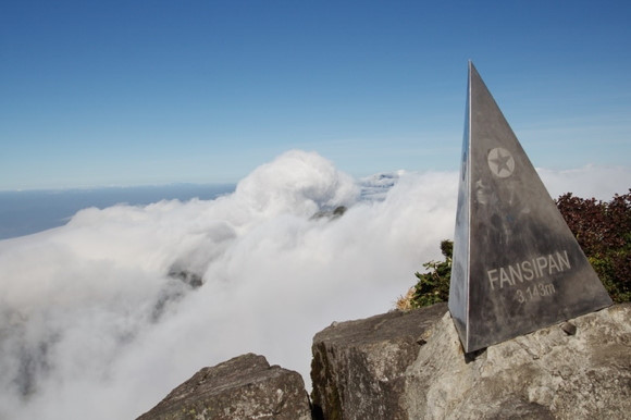 Phan Si Phăng đẹp lung linh trong sương trắng